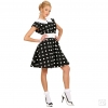 Mobile Preview: 50er Rockn Roll Kleid mit Petticoat