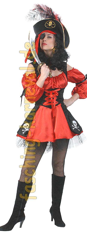 piratin kost m piratenkost me piratin kost m piraten damen frauenkost m. Black Bedroom Furniture Sets. Home Design Ideas