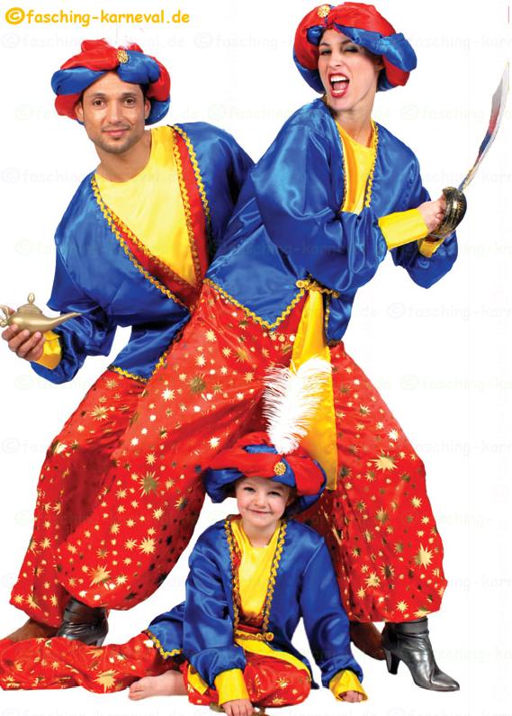 Karneval Fasching Faschingskostum Karnevalskostum Orient1001 Kostum